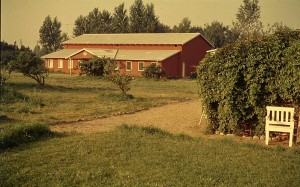 Foredragssalen i Martinus Center Klint ca 1965