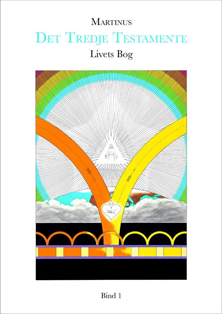 """Livets Bog 1, med titlen Det Tredje Testamente, med symbol nr. 23 """"Det færdige menneske i Guds billede efter hans lignelse""""."""