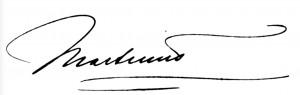 Martinus' brev, der var skrevet på dansk, blev dateret i København torsdag den 4. december 1924 og stilet til Præsidenten for Stjernen i Øst, Hr. J. Krishnamurti. Da Martinus i de syv første år 1921-1928 skulle leve helt anonymt, underskrev han ikke brevet med navn, men med et symbolsk tegn, der skulle være forståeligt for ethvert åndeligt højt udviklet menneske.