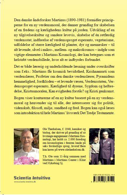 """Ole Therkelsen har skrevet bogen """"Martinus og den ny verdensmoral"""""""
