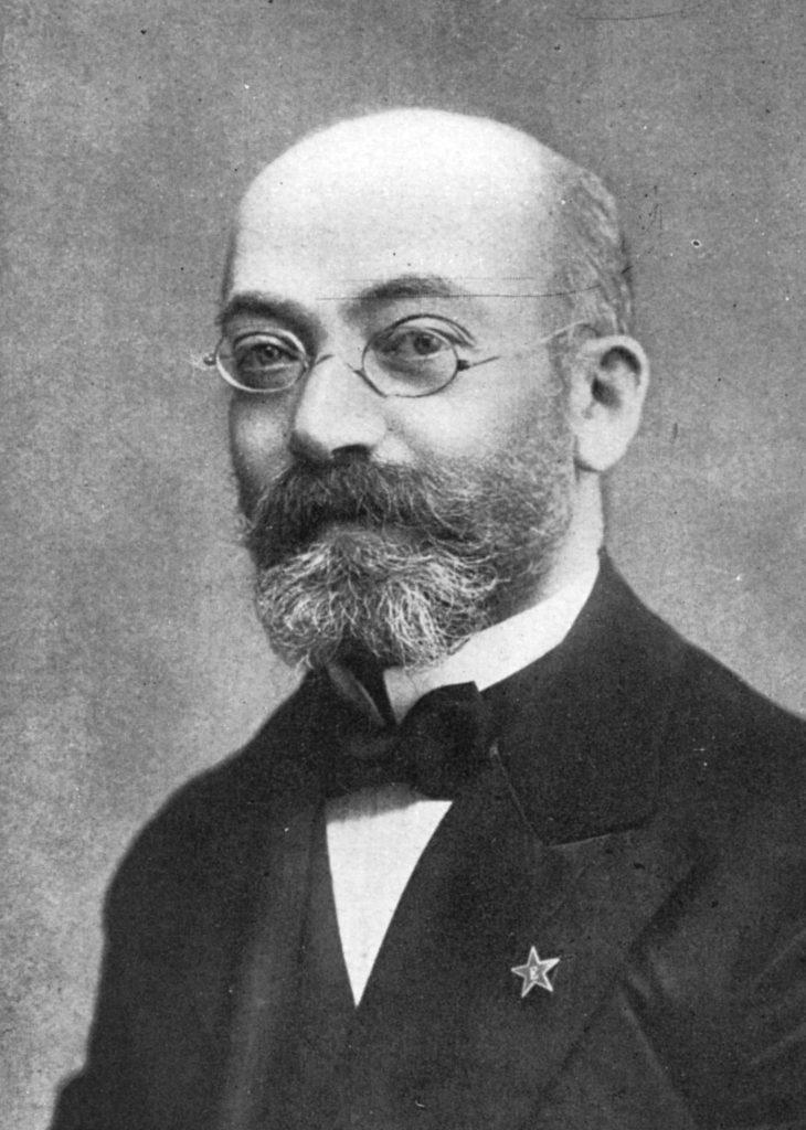 Potræt af Zamenhof i 1908