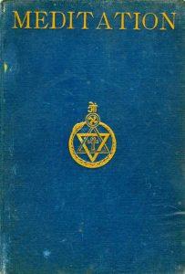 """Hermann Rudolph - forfatter til bogen """"Meditation. En teosofisk andagtsbog med anvisning til Meditation"""