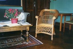 Martinus meditationsstol hvor han fik sin kaldelse til at blive verdenslærer. se www.martinus.dk