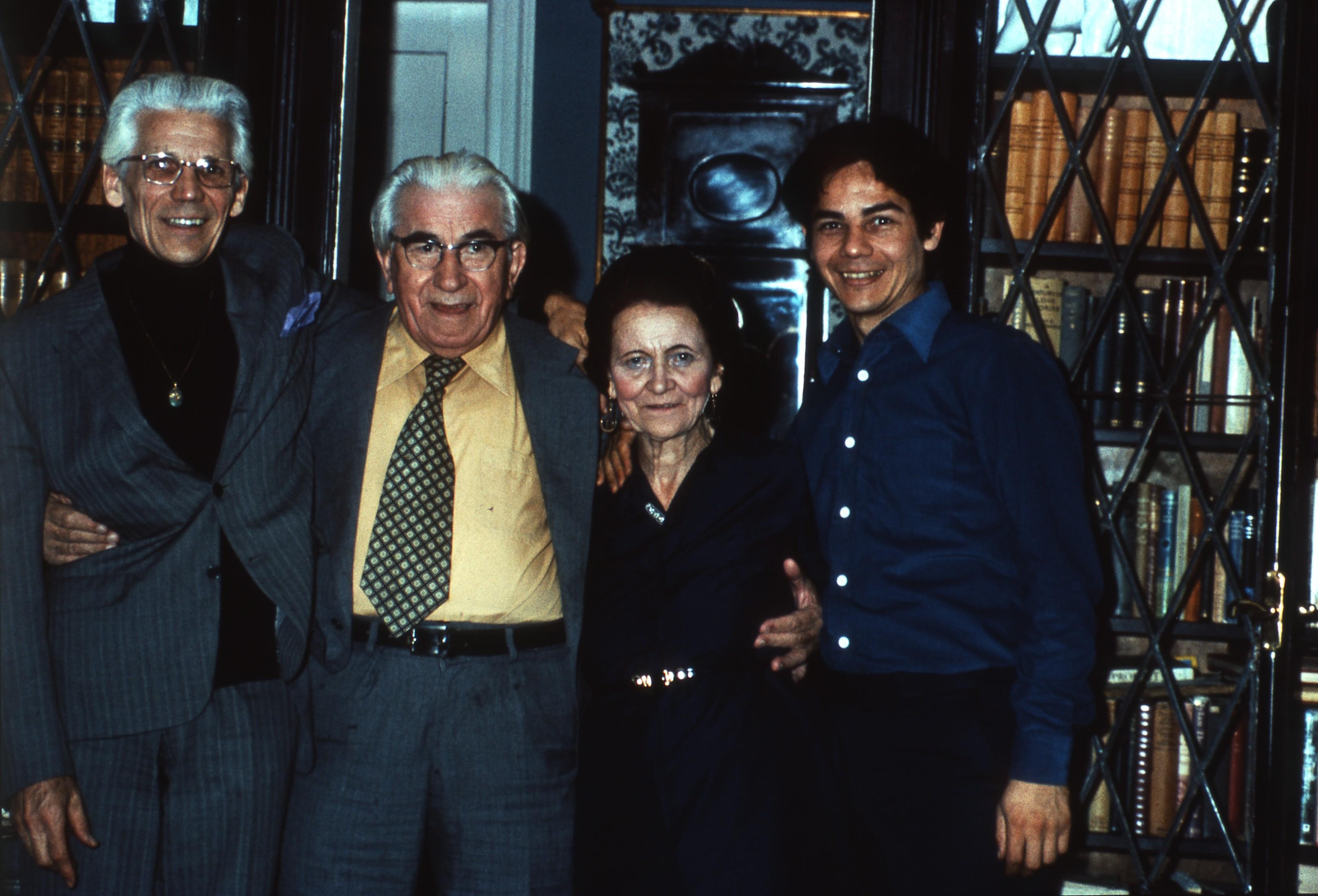 Martinus og Mischa besøger Elly og Per Thorelll. En intellektualiseret kristendom