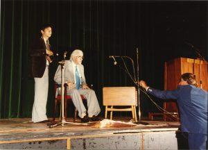 Martinus sit sidste foredrag ved sin 90 års fødselsdag i Falkoner Center august 1980
