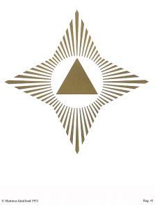 Symbol nr. 41. Stjernesymbolet af Martinus. copyright © Martinus Institut, www.martinus.dk