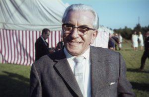 Martinus 75 år, den 11.08.1965, fejres i Martinus Center Klint i et stort med over 300 deltagere