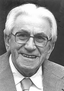 Martinus 90 år i 1980. Han boede på Maritinus Institut 1943-1981. www.martinus.dk